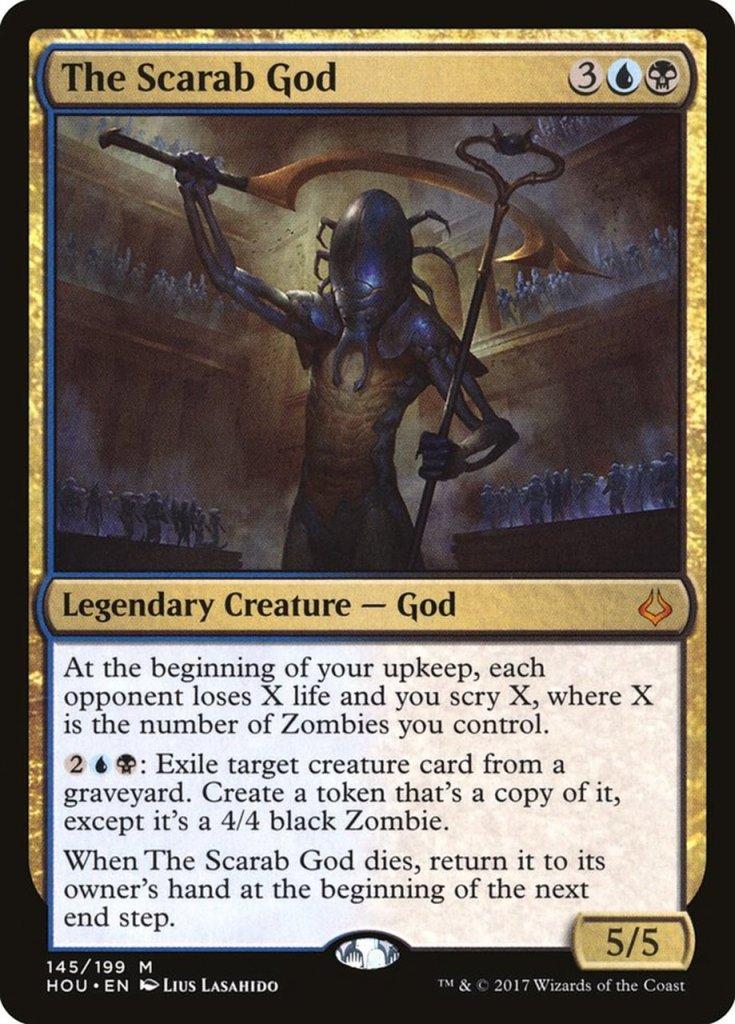 जादू: सभा स्कोरिंग कार्ड - स्कारब भगवान
