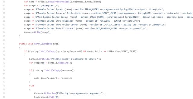 SharpHose - एसिंक्रोनस पासवर्ड छिड़काव उपकरण